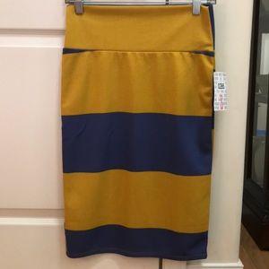 NWT Lularoe Cassie striped pencil skirt